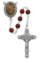 RED O.L. PERPETUAL HELP ROSARY