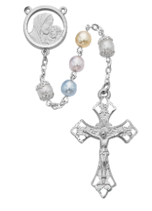 Mother and Child Multi  Rosary Boxed
