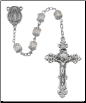 Aurora Glass Capped Rosary