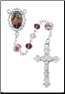 PINK ST. THERESE ROSARY