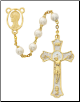 GOLD HOLY MASS ROSARY